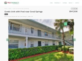 Condo Unit with Pool near Coral Springs | Real Estate in South Florida