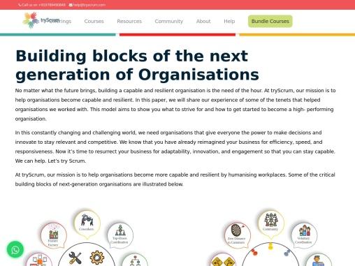 ICagile certified agile coach-tryScrum