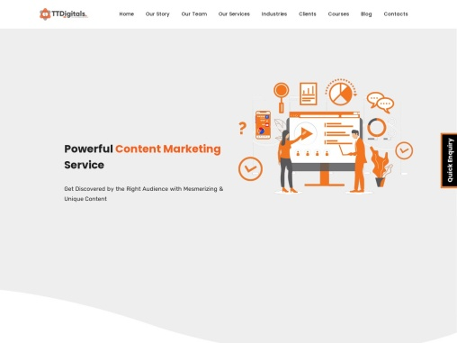 Content Marketing Company In Pune – TTDigitals Agency