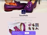 Mens italian leather bespoke shoes