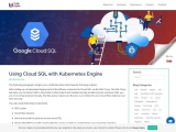 Using Cloud SQL with Kubernetes Engine
