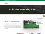 Artificial Grass Putting Green in Fort Lauderdale