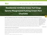 Artificial Grass Installer Port Charlotte