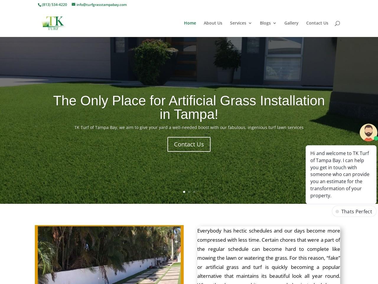 Artificial grass installer Brandon
