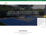 Artificial grass Installer in West Palm Beach