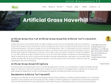 Artificial grass installer Haverhill