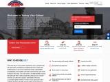 turkey visa online application