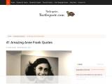 41 Amazing Anne Frank Quotes | Turtle Quotes