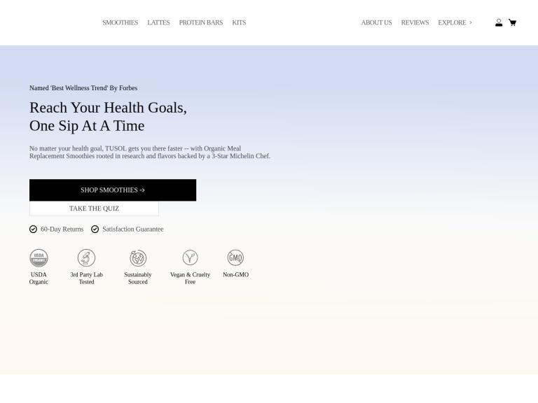 TUSOL Wellness screenshot