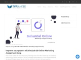 Improve grades with Industrial online Marketing assignment help