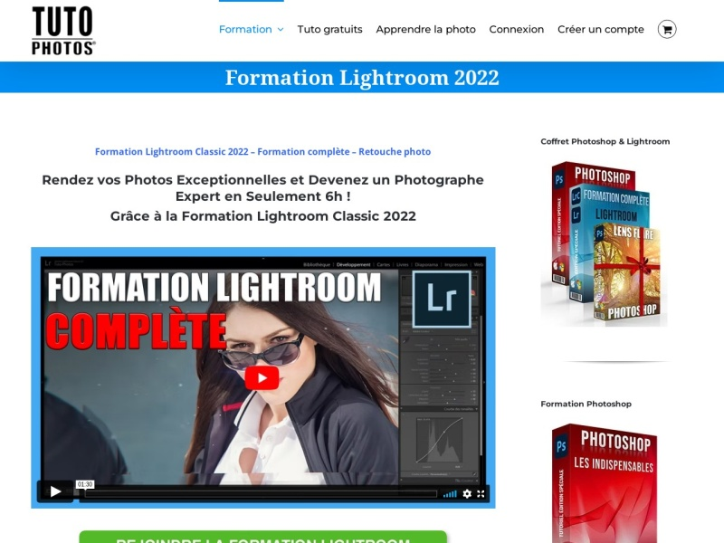 formation lightroom classic cc 2018