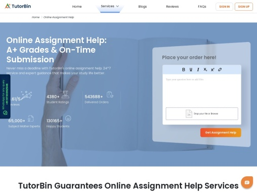 What is Homework Help/ Assignment Help?