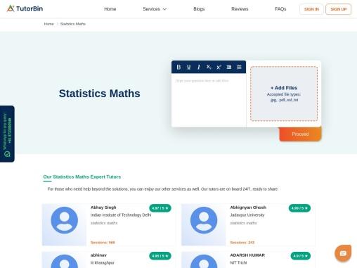 Statistics homework help that I can rely on