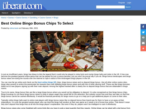 Best Online Bingo Bonus Chips To Select