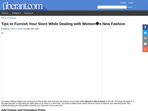 Fashion Wholesaler – Latest Style Printed Clothes For Girls!