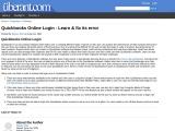 Quickbooks Online Login – Learn & fix its error
