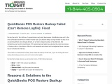 QuickBooks POS Restore Backup Failed (Can't Remove Logfile)