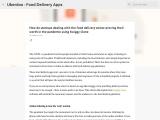 Swiggy Clone Script – Food Delivery Application