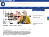 what are the benefits of Udyam Registration