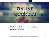 Uk Public College – Professional Online Courses