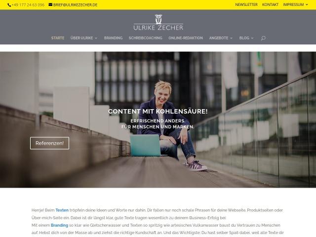 Zecher Ulrike – DEIN BUSINESS – GANZ DU!