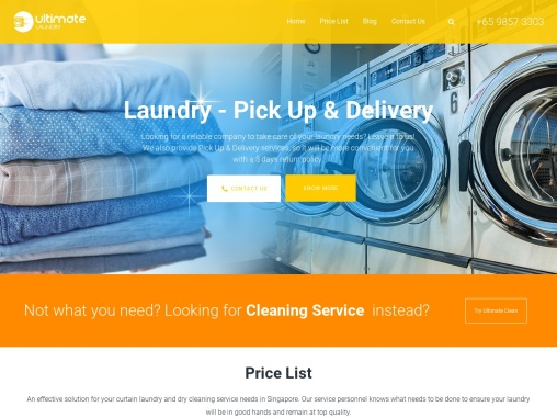 Best Dry Cleaning Service in Singapore