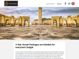 3 Star Umrah Packages are Suitable for everyone's budget