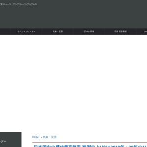 日本国内の歴代最高気温|観測史上1位は2018年の41.1℃ - unavailable days