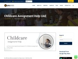 Childcare Assignment Help in UAE