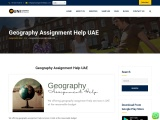 Geography assignment help services in UAE at the reasonable budget.