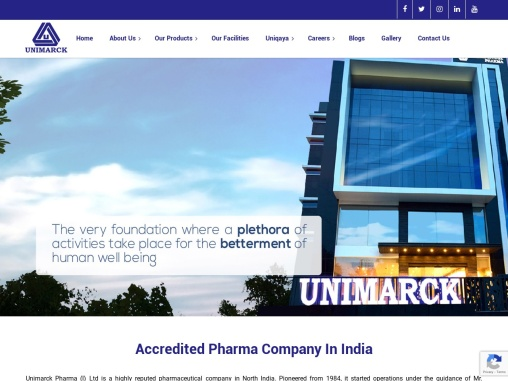 Accredited Pharma Company in India