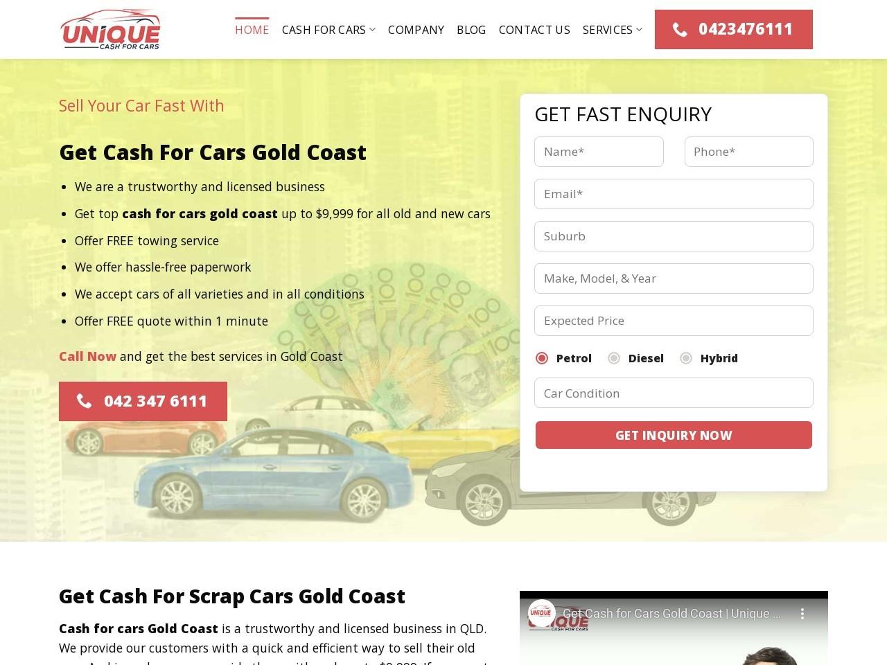 good company cash for cars labrador