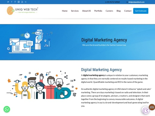 Digital marketing agency in USA