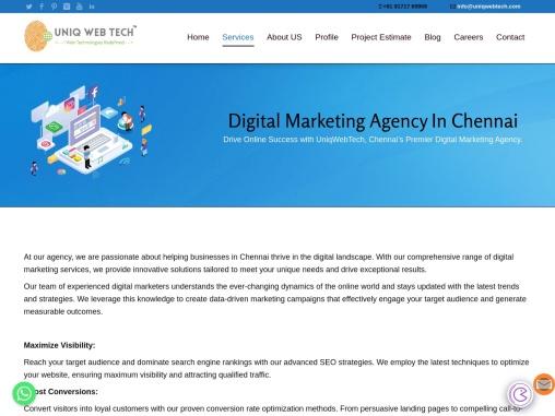 Digital Marketing Agency In Chennai