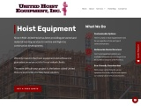 Hoist Rentals | United Hoist Equipment Inc.