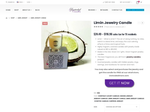 Scented Candles with Rings   Candles With jewelry Hidden Inside