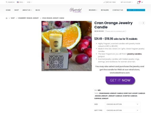 Surprise candles | Jewelry In Candles Rings