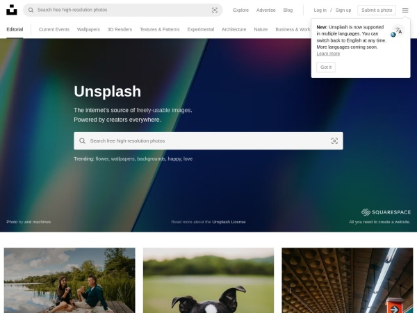 Unsplash - 15 Free Website for Quality Free Copyright Images 2020