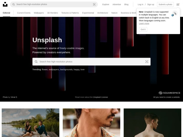 Unsplash | Free High-Resolution Photos