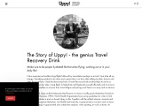 Travel Recovery Drink – Uppy Flyer