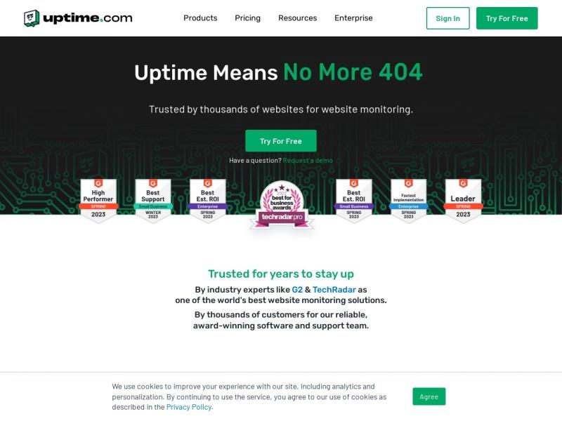 Uptime.com| ウェブサイトがマルウェア感染していないか、ダウンしていないかなどを無料で調べられるサイト