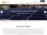 Best Solar Company in Chandigarh Contact Urban Solarise