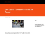 Best Electric Skateboards Under 400 Dollars