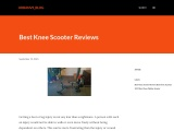 Best Knee Scooter Reviews 2021