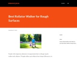 Best Rollator Walker for Rough Surfaces