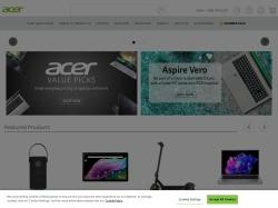 Acer Online Store screenshot