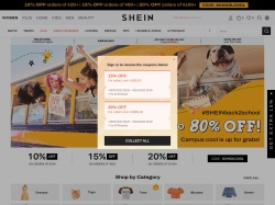 Shein coupon codes