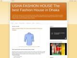 Usha Fashion House, The best Fashion House in Dhaka
