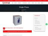 Single Phase Servo Voltage Controller   Ushapowertec