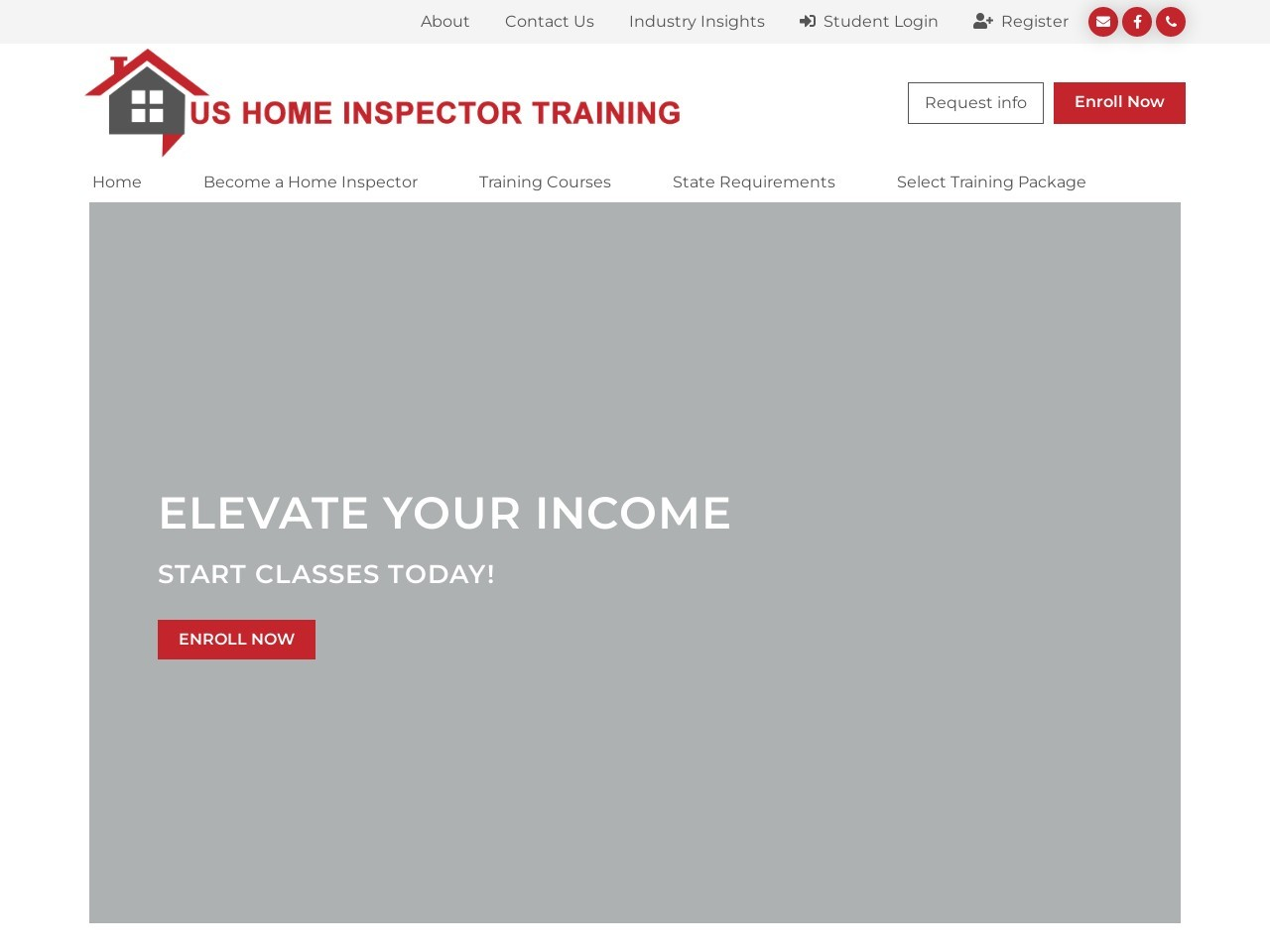 Register  – US Home Inspector Training